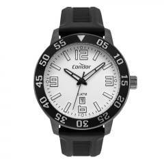 Relógio Condor Masculino Silicone Preto CO2115KWQ/5P