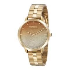 Relógio Mondaine Feminino Dourado 32109LPMVDE1