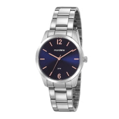 Relógio Mondaine Feminino Prata 99457L0MVNE2