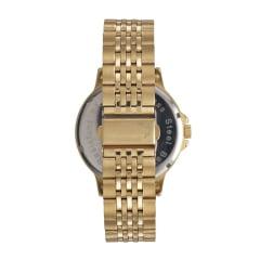 Relógio Mondaine Masculino Funcional Dourado