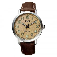 Relógio QeQ em Couro Masculino QB28J315Y?