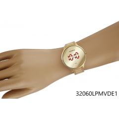 Relógio Mondaine Feminino Digital Dourado