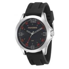 Relógio Mondaine Masculino Silicone + Kit Unha 99188G0MVNI2K2