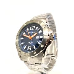 Relógio Seculus Maculino Prata 23667G0SVNA2