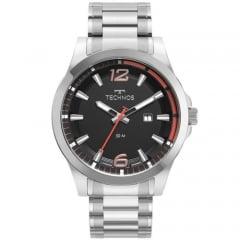 Relógio Technos Masculino Prata 2117LDG/1P