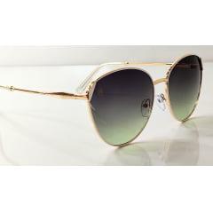 Óculos Solar Feminino Modelo Arredondado Rafalu 92509 C6