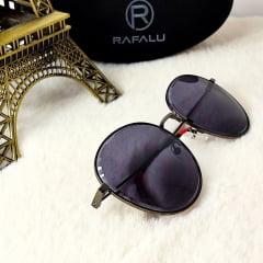 Óculos Solar Feminino Modelo Arredondado Rafalu R20551 C234