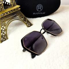 Óculos Solar Feminino Quadrado Rafalu RP21067 CA45-PSG326