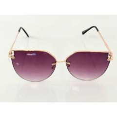 Óculos Solar Feminino Rafalu Lente Lilás H02304 C3