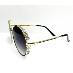 Óculos Solar Feminino Rafalu HT1057 C2