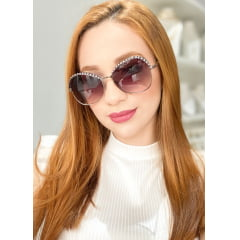 Óculos Solar Feminino Rafalu HT1118 C2