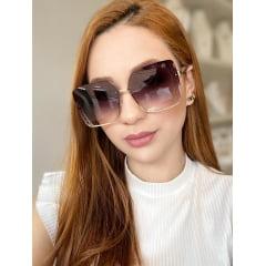Óculos Solar Feminino Rafalu UM1128 C1