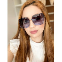 Óculos Solar Feminino Rafalu UM1128 C2