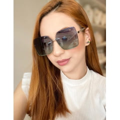 Óculos Solar Feminino Rafalu UM1128 C6