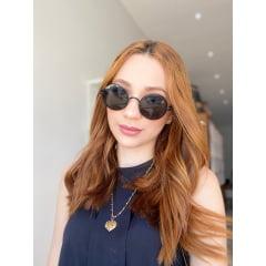 Óculos Solar Feminino Rafalu HT1242 C1