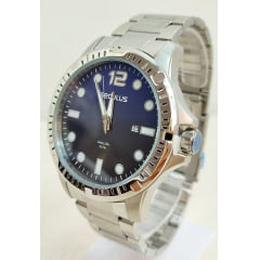Relógio Masculino Prata Seculus