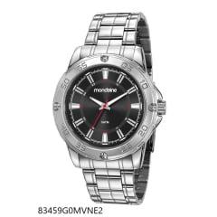 Relógio Mondaine Masculino Prata