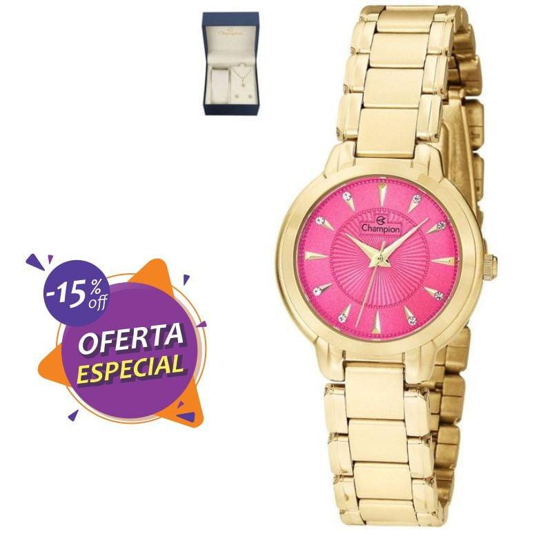Relógio Champion Feminino Dourado CH24937J