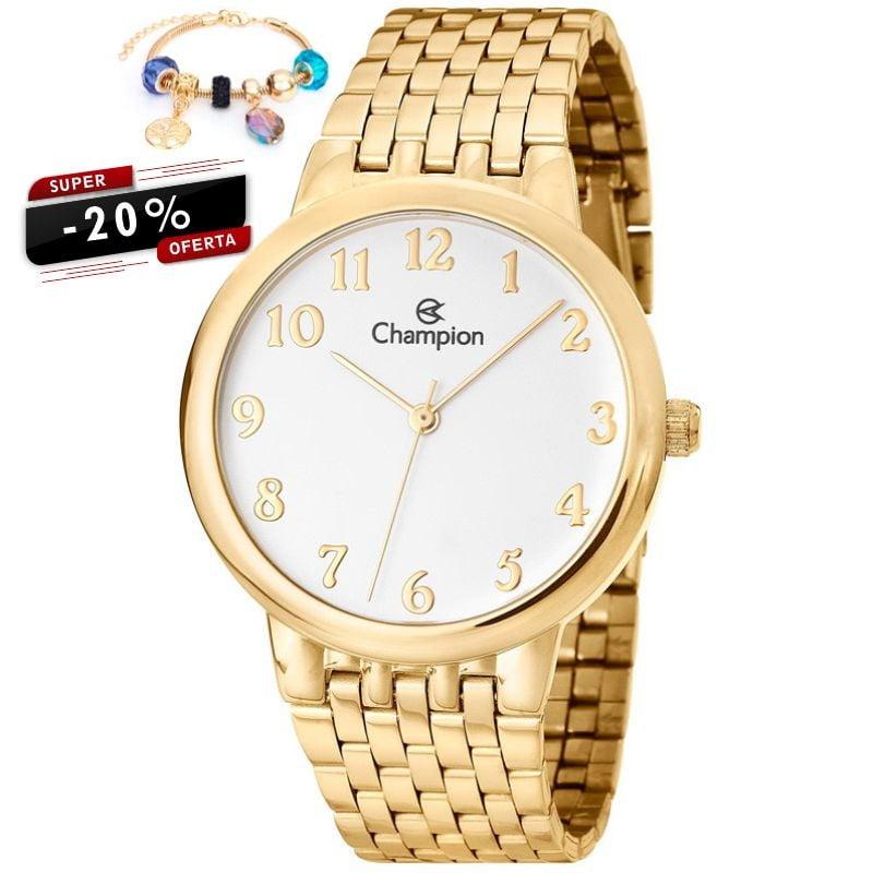 Relógio Champion Feminino + Pulseira CH22911S