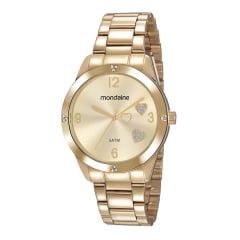 Relógio Mondaine Feminino Dourado 99400LPMKDE1