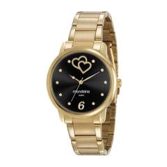 Relógio Mondaine Feminino Dourado 53921LPMGDE2
