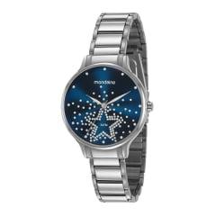 Relógio Mondaine Feminino Prata 53862L0MVNE1