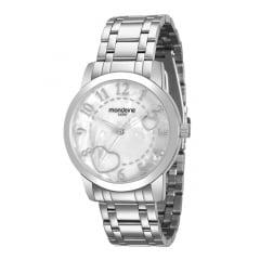 Relógio Mondaine Feminino Prata 99125L0MVNE2