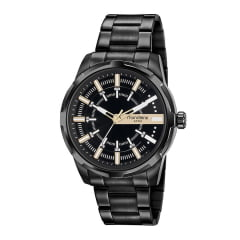 Relógio Preto Masculino Mondaine 99469GPMVPE2