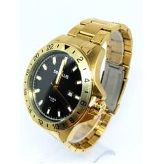 Relógio Seculus Dourado Masculino 20801GPSVDA2