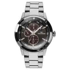 Relógio Technos Masculino todo em aço 6P57AD/1P
