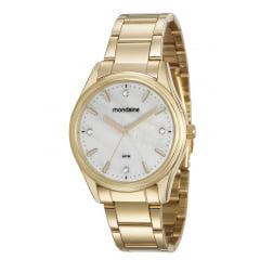 Kit Relógio Feminino Mondaine + Colar e Brinco 53568LPMVDE2K1