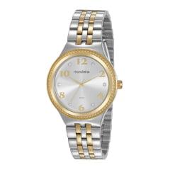 Kit Relógio Mondaine Feminino Misto + Pulseira