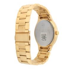 Kit Relógio Condor Feminino Dourado + Colar e Brinco CO2035HY/K4D