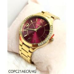 Relógio Condor Feminino Dourado COPC21AECR/4G