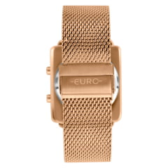 Relógio Euro Digital Feminino Rosê EUJHS31BAN/4D