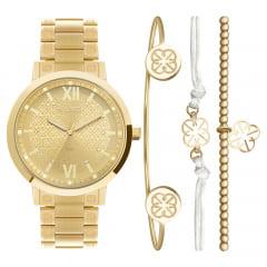 Relógio Euro Feminino EU2035YSM/K4D + Mix Pulseira