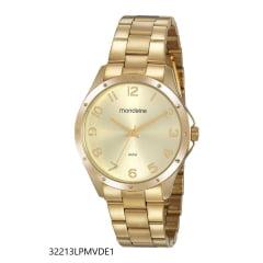 Relógio Mondaine Feminino Dourado