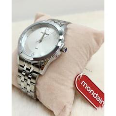 Relógio Mondaine Feminino Prata