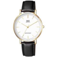 Relógio QeQ em Couro Masculino Q978J111Y