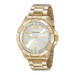 Relógio Dourado Masculino Mondaine Lançamento