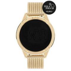 Relógio Euro Feminino Dourado Digital