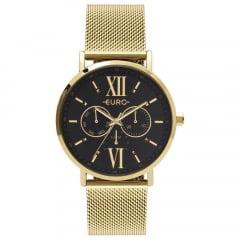 Relógio Euro Multifunção Feminino Dourado EU6P29AHCBP/4P