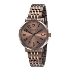 Relógio Feminino Mondaine Marrom