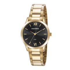 Relógio Mondaine Feminino Dial Preto