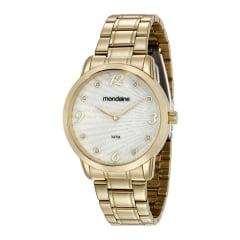 Relógio Mondaine Feminino Dourado - Lançamento