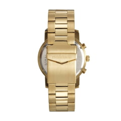 Relógio Mondaine Massculino Dourado Todo em Aço
