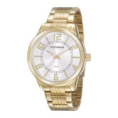 Relógio Mondaine  Prata Lançamento Fundo Branco