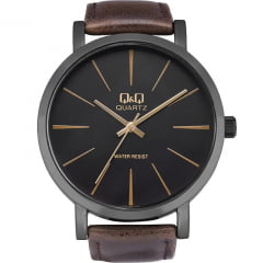 Relógio QeQ em Couro Masculino Q892J522Y