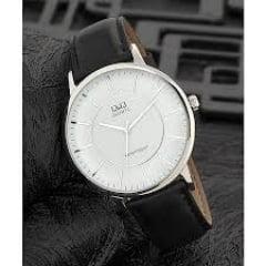 Relógio QeQ em Couro Masculino QA24J301Y
