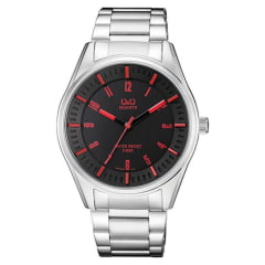 Relógio QeQ em Couro Masculino QA54J205Y
